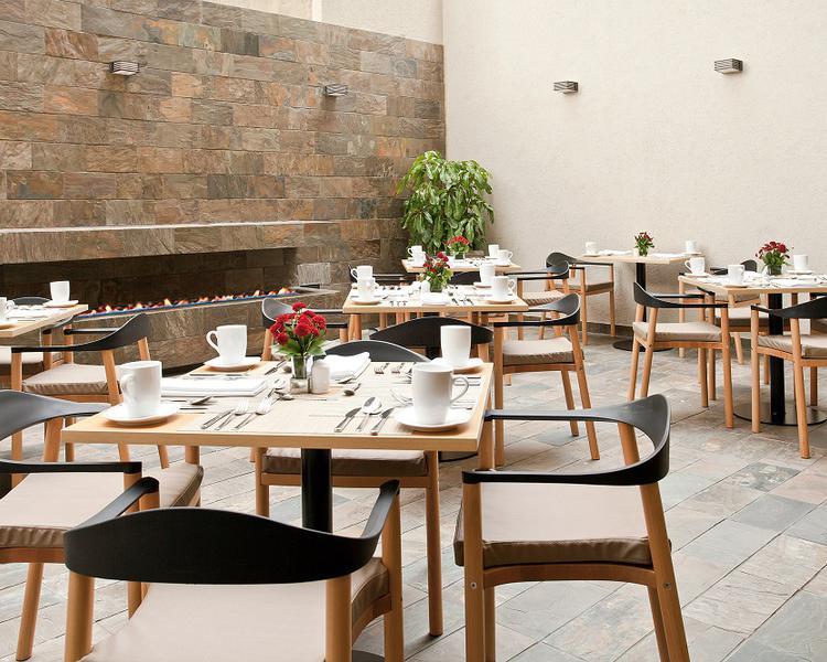Restaurante terraza Hotel ESTELAR Calle 100 Bogotá