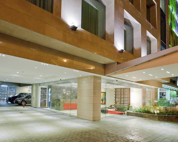 Fachada Hotel ESTELAR Calle 100 Bogotá