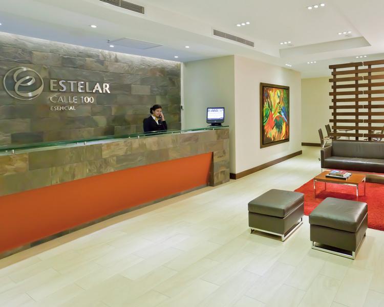 Lobby Hotel ESTELAR Calle 100 Bogotá