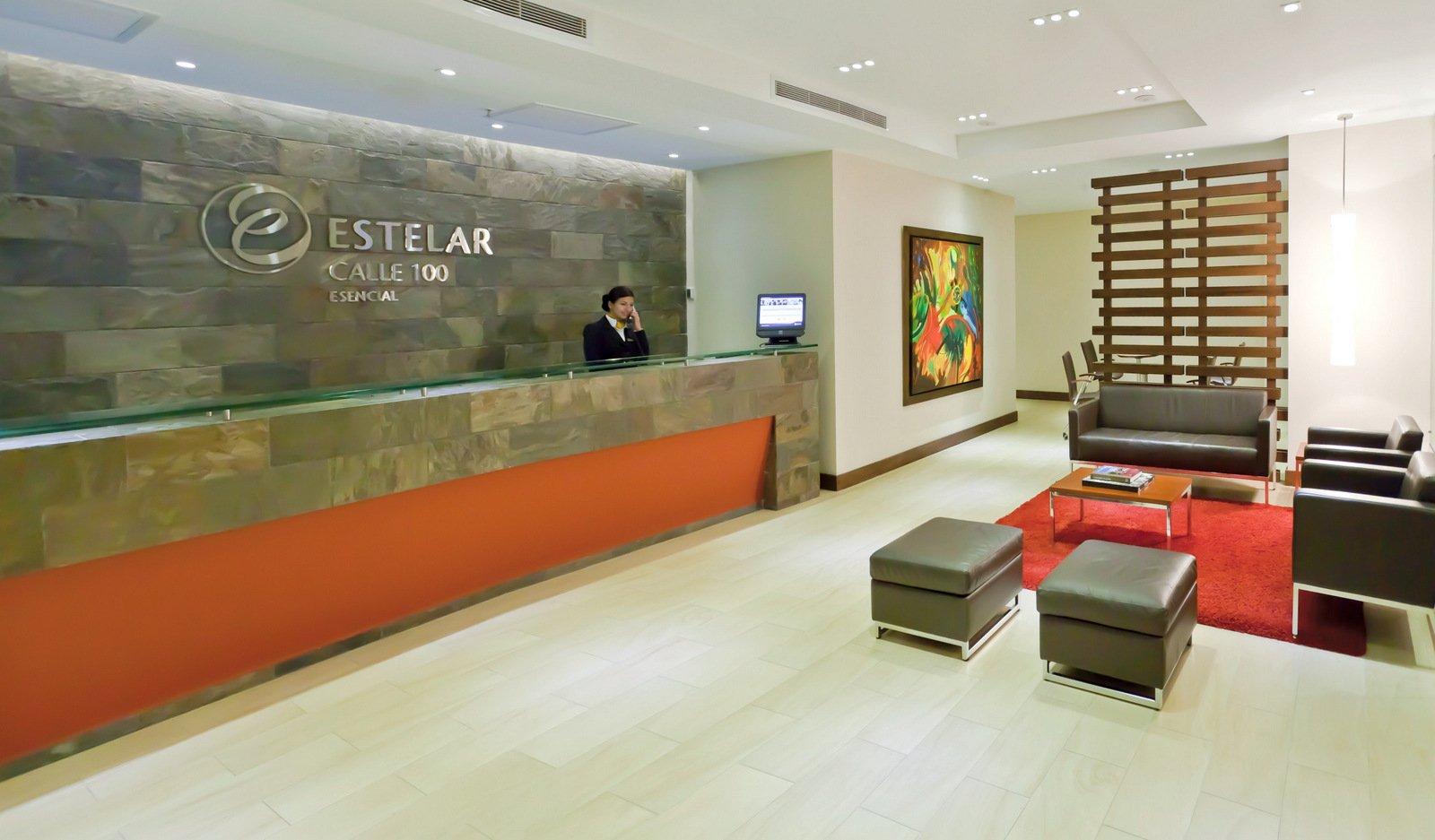 Fotos hotel estelar calle 100 en bogot web oficial for Diseno de lobby de hoteles